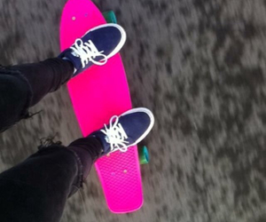 board, pink, and nike image