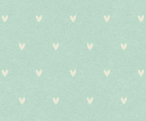 green, hearts, and pastel image