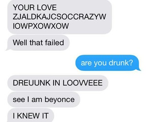 drunk, imagine, and texting image
