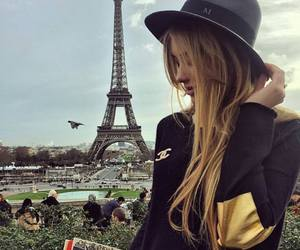 paris, france, and hat image