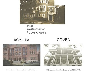 asylum, coven, and places image