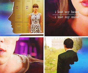 finchel, glee, and without you image