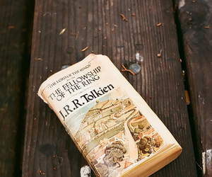 book, vintage, and tolkien image
