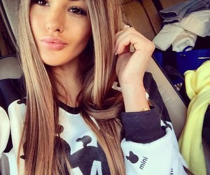 girl, pretty, and beauty image