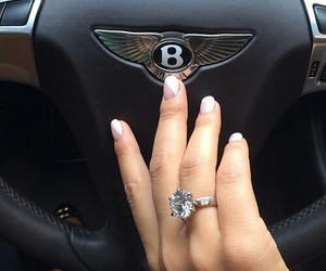 car, ring, and luxury image