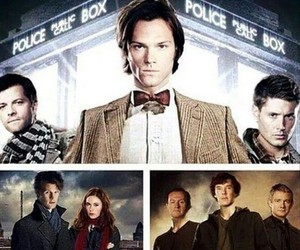 sherlock, doctor who, and supernatural image