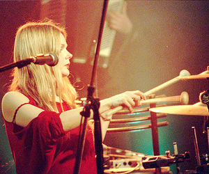 cool, girl, and drum image