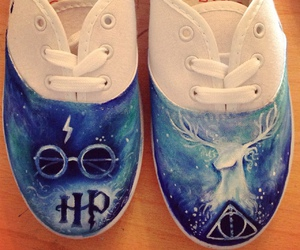 harry potter, shoes, and sneakers image