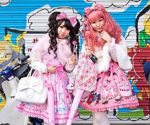dress, fashion, and kawaii image