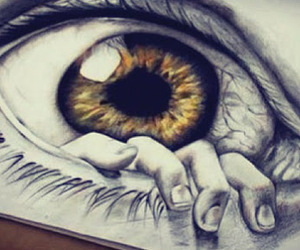 eye, forever, and hipster image