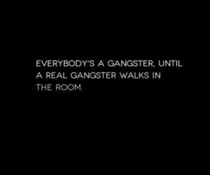 quote and gangster image