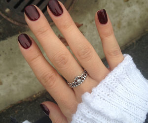 burgundy, shellac, and winter image