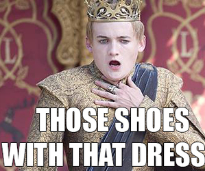 funny, game of thrones, and dress image