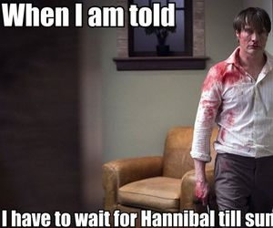 blood, hannibal, and lecter image