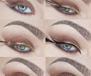 chicas, maquillaje, and girl image