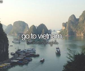 Dream, travel, and Vietnam image