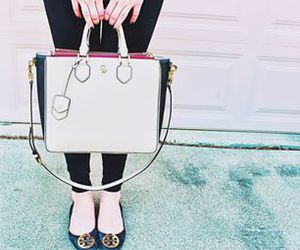 preppy, tory burch, and sarahbelle93x image