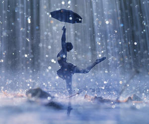 dance, rain, and ballet image