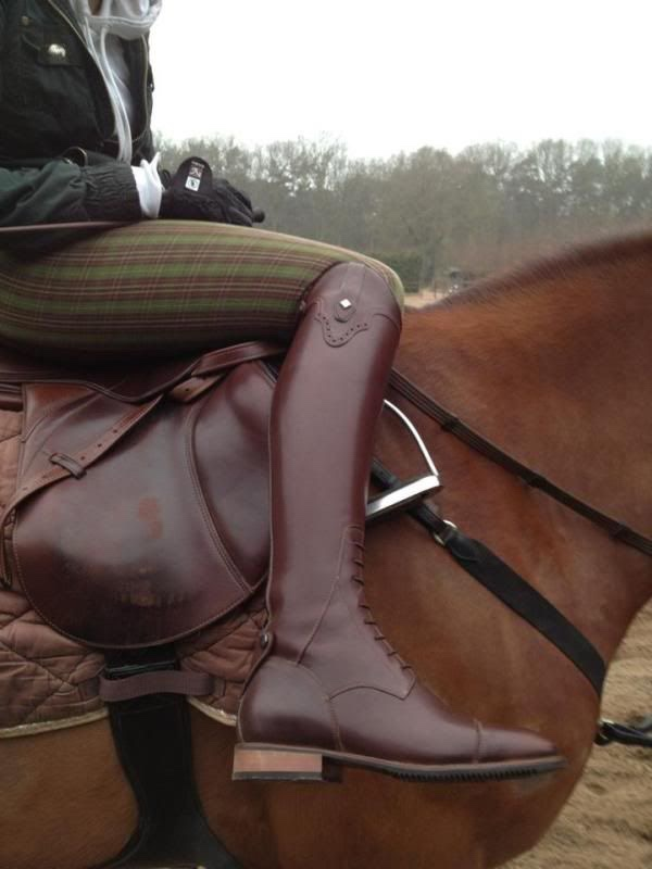 horse, equestrian, and boots image