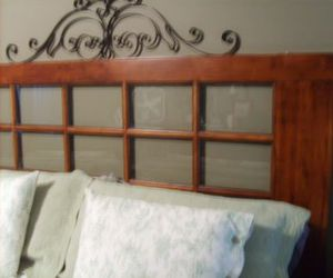 beds, headboard, and home decor image