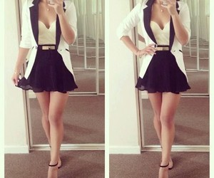 black, clothing, and dresses image