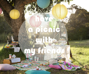 picnic, summer, and nature image