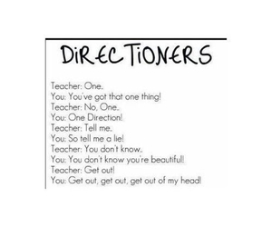 funny, school, and directioners image
