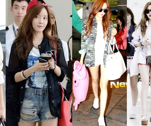 airport, fashion, and t-ara image