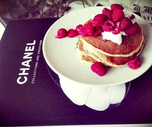 chanel, colors, and food image