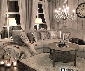 interior, candles, and classy image