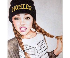 drawing, madison beer, and hiliuu image