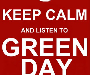 and, green day, and keep calm image
