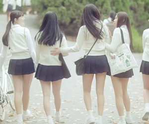 glass bead, gfriend, and debut image