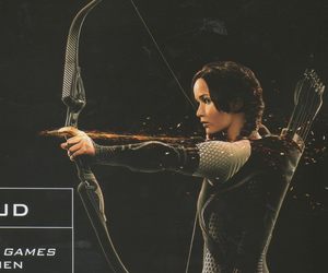 arrow, everdeen, and bow image