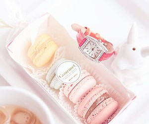 food, cute, and macaroons image