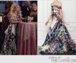 Carolina Herrera, Carrie Bradshaw, and fashion image