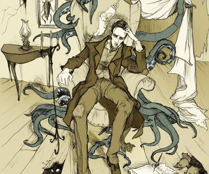 illustration and Lovecraft image