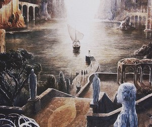 LOTR and grey havens image