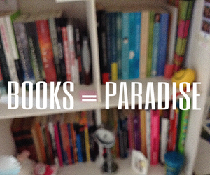 books and paradise image