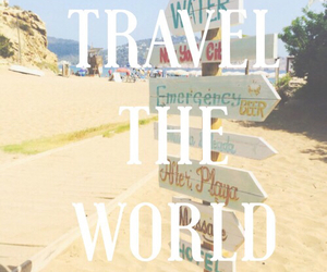 travel, beach, and world image