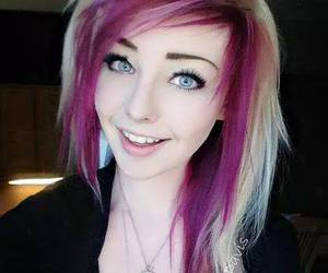 alt girl, pinkhair, and dyed hair image