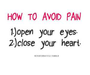 heart, pain, and quote image