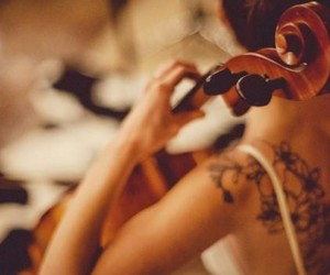 beautiful, cello, and girl image