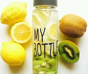 lemon, kiwi, and water image