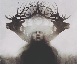 art, dark, and witchcraft image