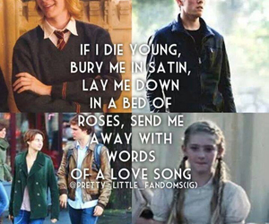 harry potter, prim everdeen, and the fault in our stars image