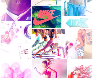 Collage, nike, and wallpaper image