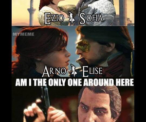 couple, elise de la serre, and assassin's creed image