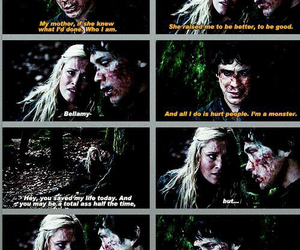 bellarke and the 100 image