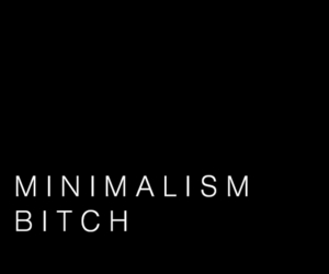 quote, minimalism, and bitch image